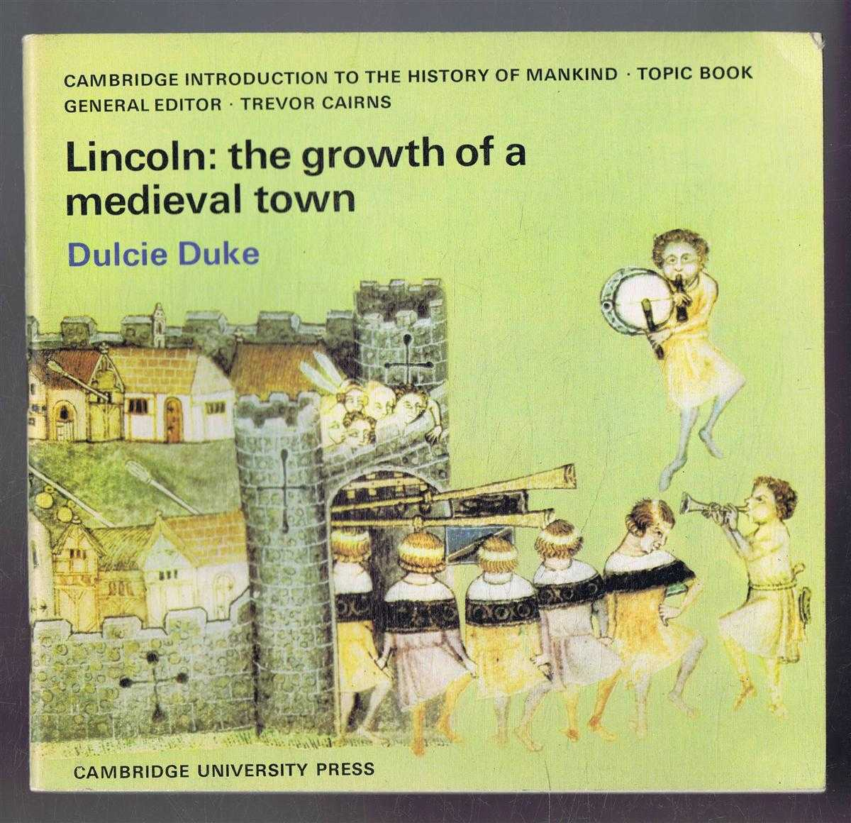 Image for Lincoln: The Growth of a Medieval Town