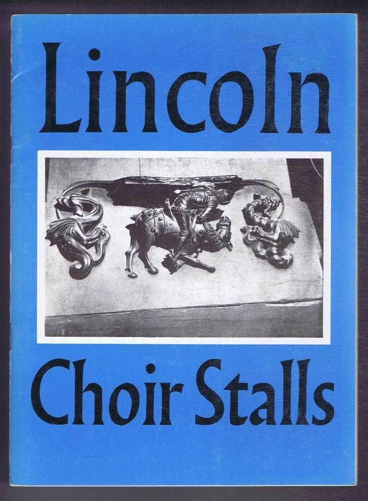 Image for The Choir Stalls of Lincoln Minister