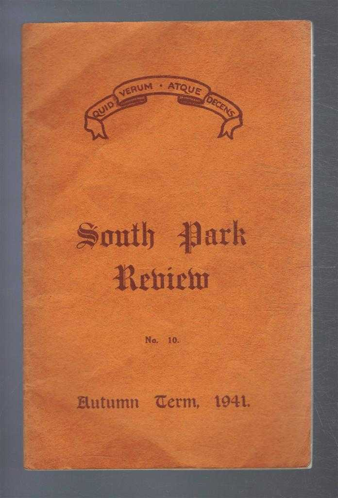 Image for South Park Review No. 10 Autumn Term 1941 (Lincoln)