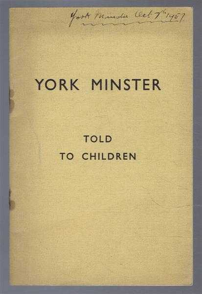 Image for York Minster Told to Children