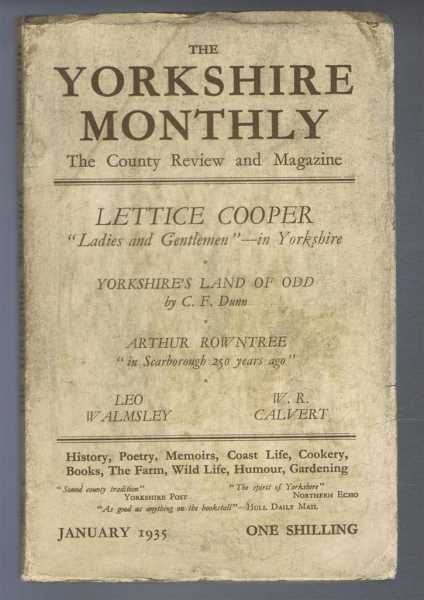 Image for The Yorkshire Monthly: The County Review and Magazine, January 1935.