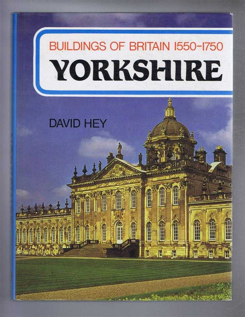 Image for Buildings of Britain 1550-1750: Yorkshire