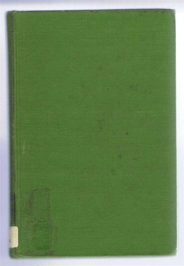Tales of The Ridings, with a Memoir of the Author by Professor C Vaughan, F W Moorman