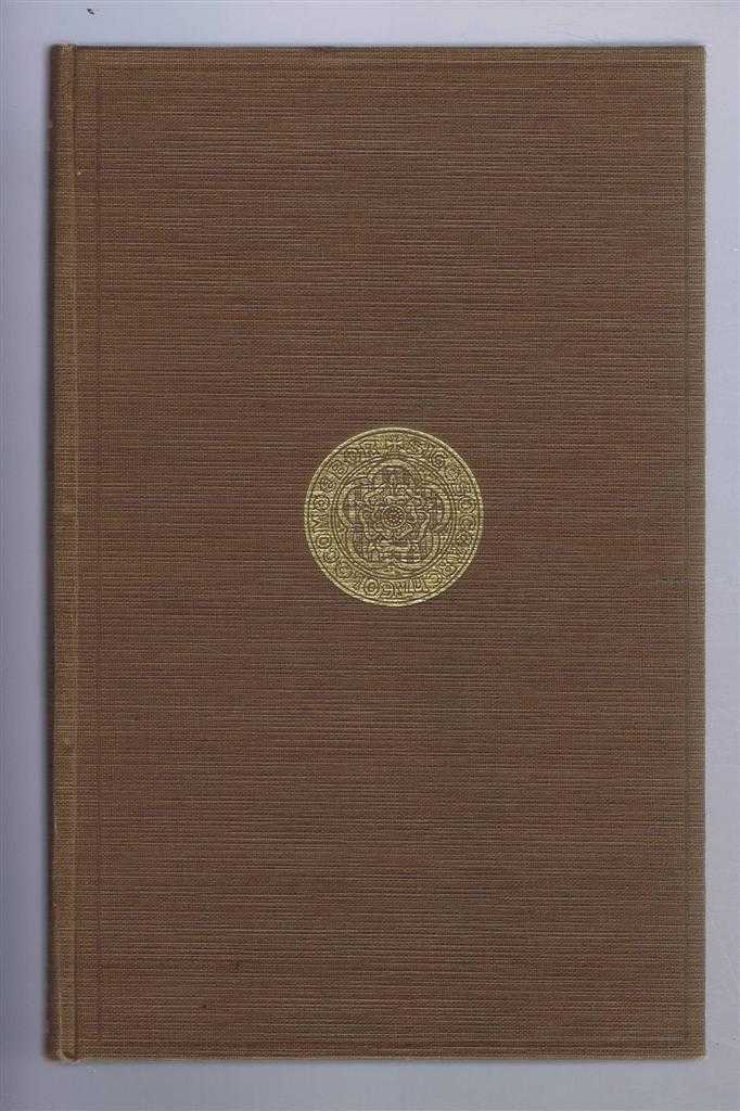 Yorkshire Archaeological Society: Record Series. Vol CXIII (113). Being the first volume for the year 1947. Catalogue of Publications of the Record Series 1885-1946, Charles Travis Clay (compiled)
