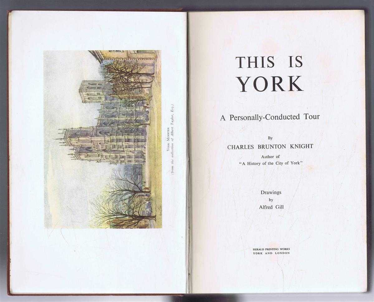 Image for This Is York, a Personally Conducted Tour