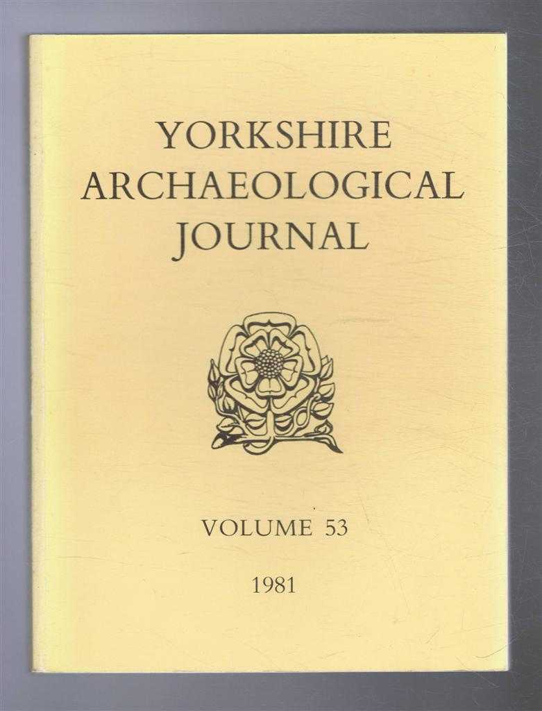 Image for Yorkshire Archaeological Journal, Volume 53 1981