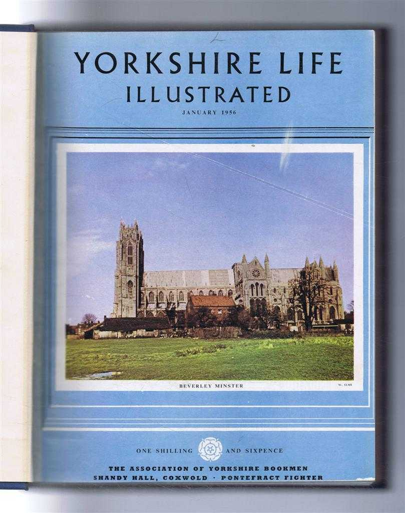 Yorkshire Life Illustrated, January - December 1956, Volume X, J B Priestley and many others