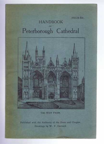 Handbook of Peterborough Cathedral, E.G.S.