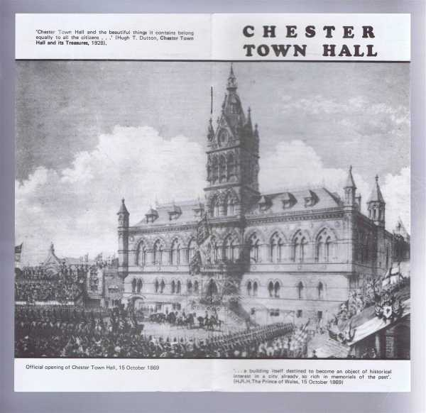 Chester Town Hall, Compiled by Chester City Record Office