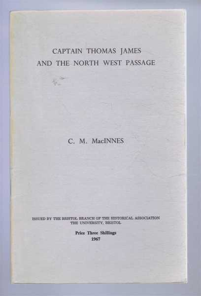 Image for Captain Thomas James and the North West Passage