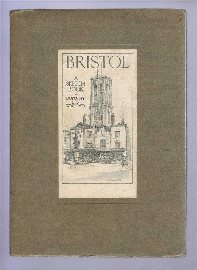 "Image for Bristol, A Sketch Book, includes an ""Artist's Sketch Book"" bookmark"