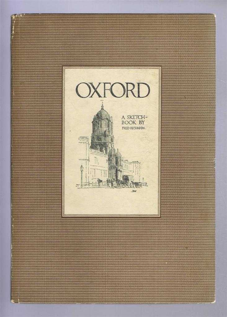 Oxford, a Sketch-book by Fred Richards, Fred Richards