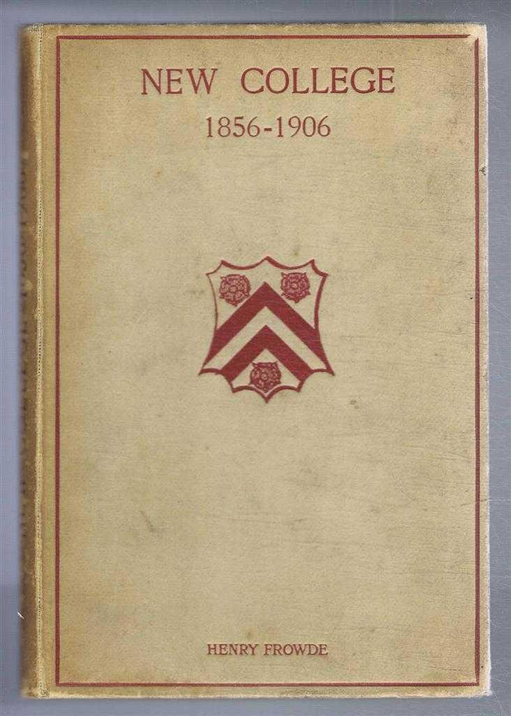 New College 1856-1906, Hereford B George