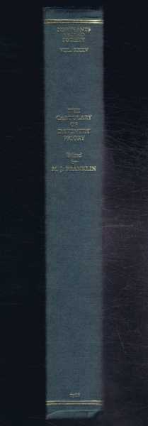 The Cartulary of Daventry Priory, edited by M J Franklin