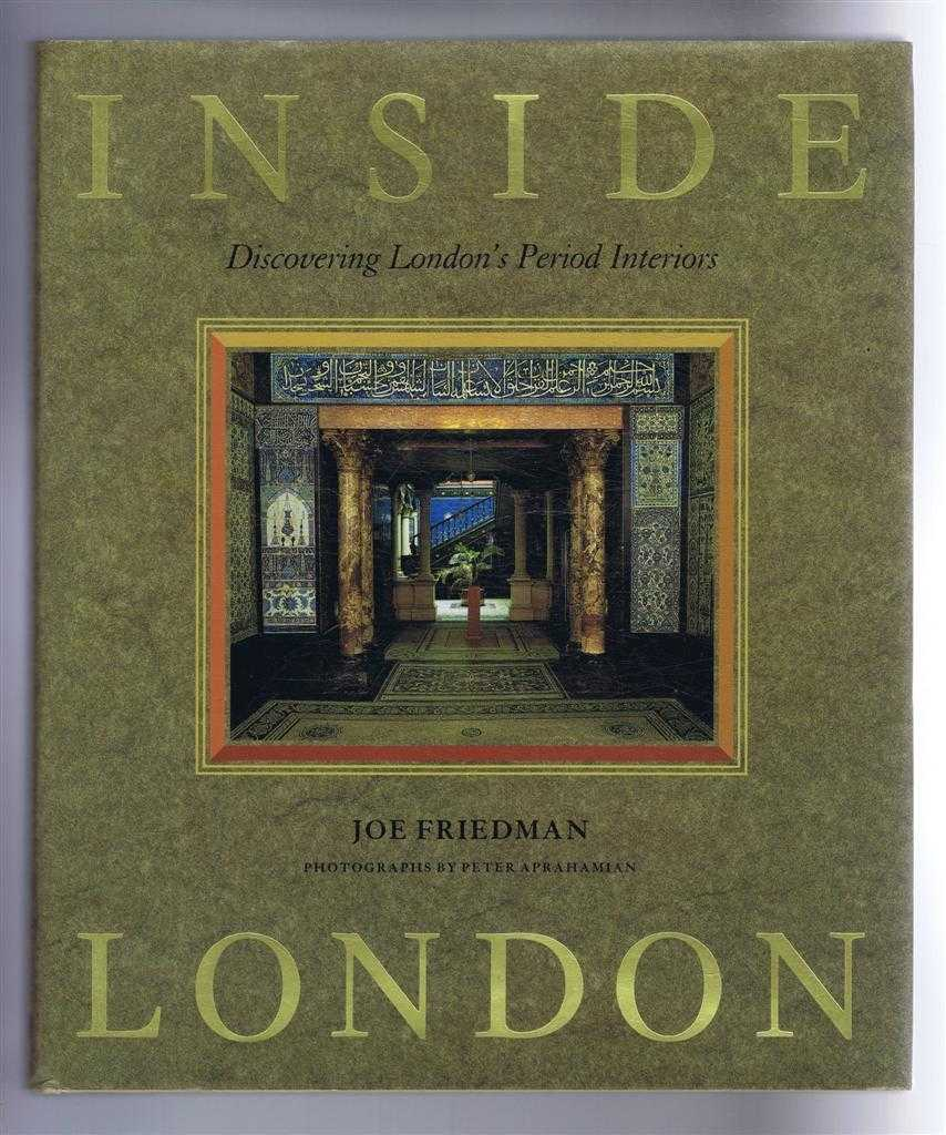 Image for Inside London, Discovering London's Period Interiors