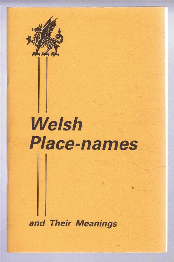 Welsh Place-Names and Their Meanings, Dewi Daves