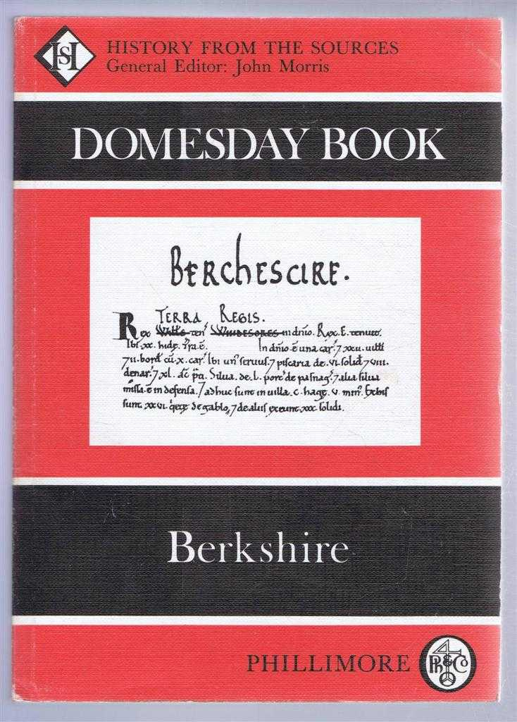 Domesday Book. Volume 5: Berkshire, (Ed) Philip Morgan from a draft translation prepared by Alison Hawkins