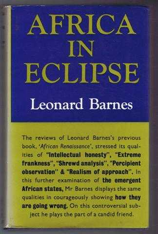 Africa in Eclipse, Barnes, Leonard