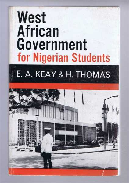 Image for West African Government for Nigerian Students