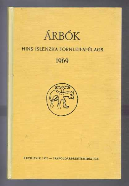 Image for Arbok Hins Islenzka Fornleifafelags 1969 (Yearbook of the Icelandic Archaeological Society)