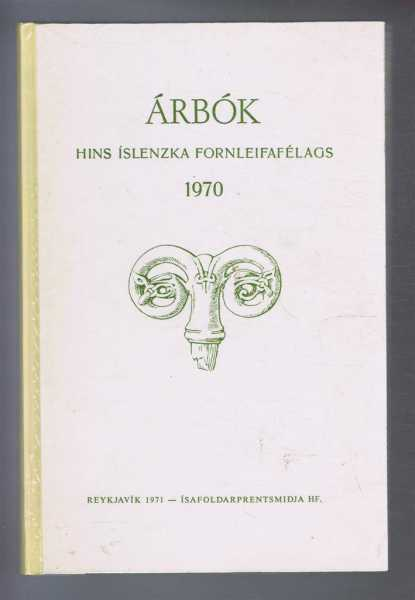 Image for Arbok Hins Islenzka Fornleifafelags 1970 (Yearbook of the Icelandic Archaeological Society)