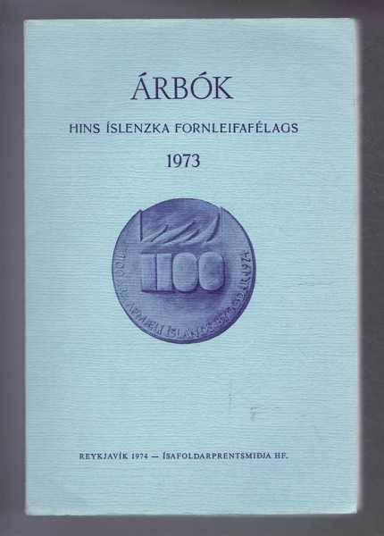 Image for Arbok Hins Islenzka Fornleifafelags 1973 (Yearbook of the Icelandic Archaeological Society)