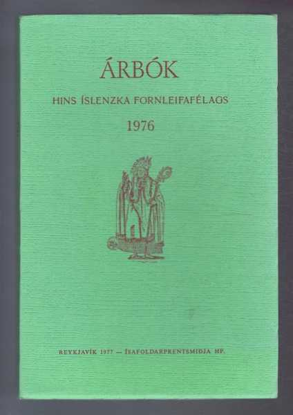 Image for Arbok Hins Islenzka Fornleifafelags 1976 (Yearbook of the Icelandic Archaeological Society)