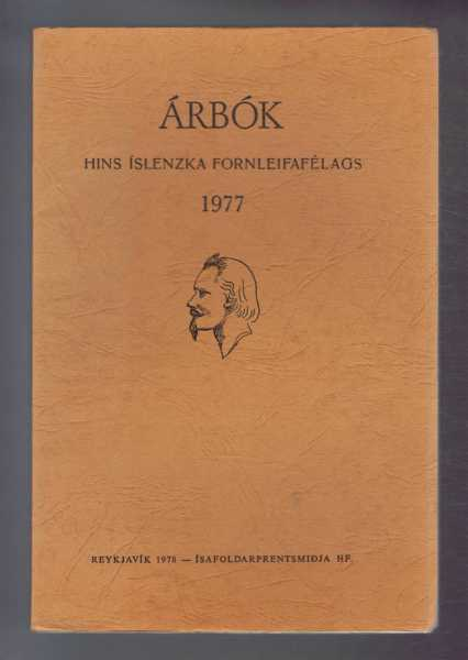 Image for Arbok Hins Islenzka Fornleifafelags 1977 (Yearbook of the Icelandic Archaeological Society)