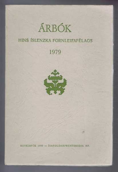Image for Arbok Hins Islenzka Fornleifafelags 1979 (Yearbook of the Icelandic Archaeological Society)