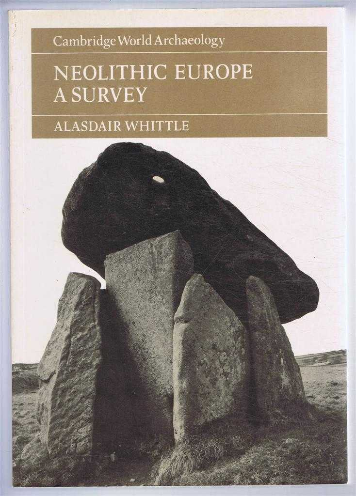 Neolithic Europe, a Survey. Cambridge World Archaeology series., Alasdair Whittle