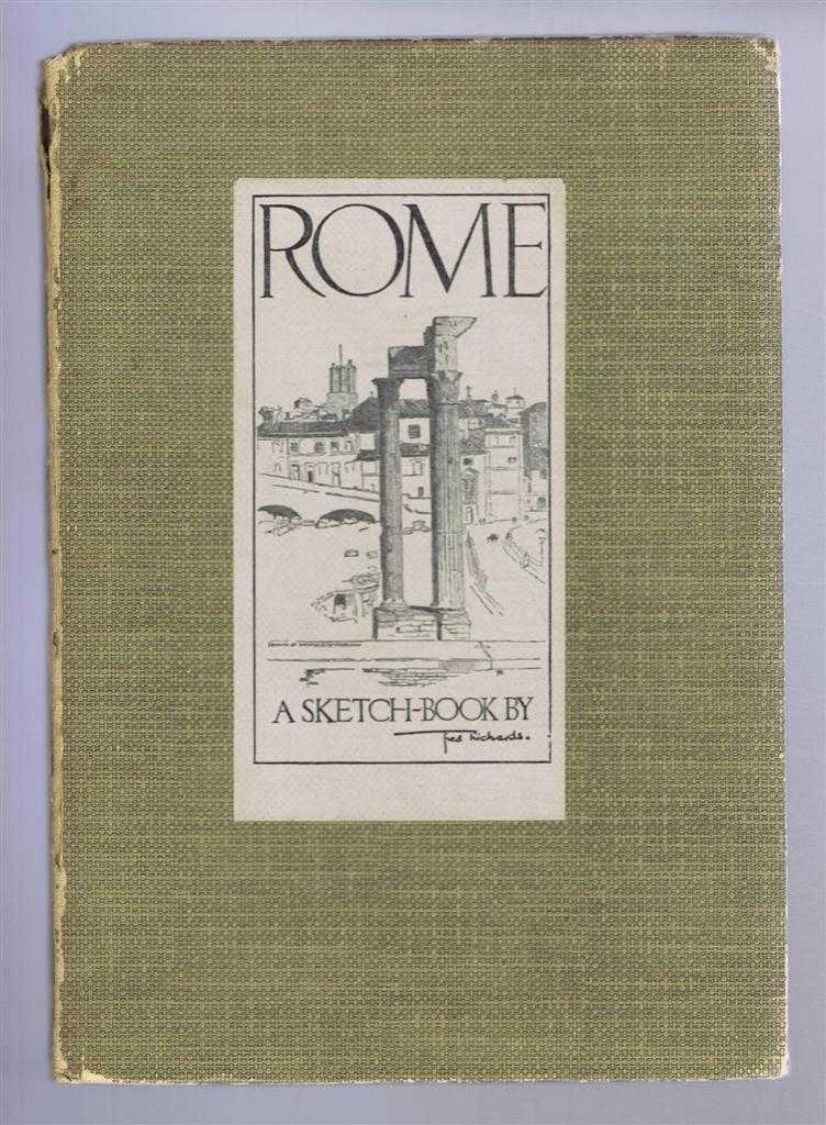 Image for Rome, a Sketch Book by Fred Richards