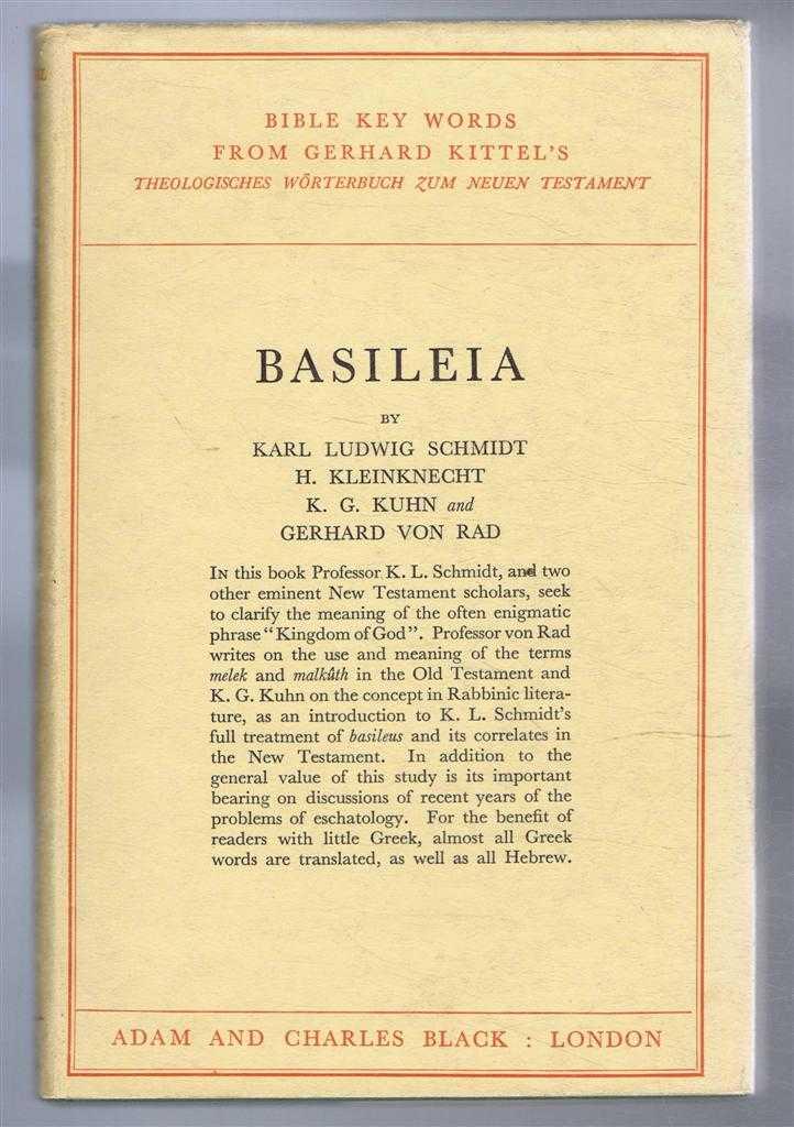 Basileia, Schmidt, Karl Ludwig et al