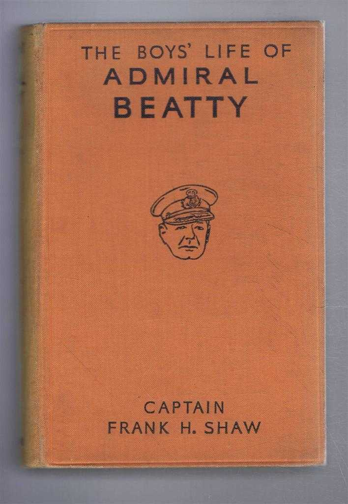 Image for The Boys' Life of Admiral Beatty