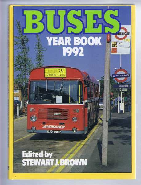 Buses Year Book 1992, Brown, Stewart J. (ed)
