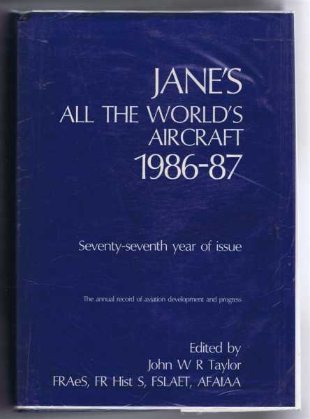 Image for Jane's All the World's Aircraft 1986-87. Seventy-seventh year of issue.
