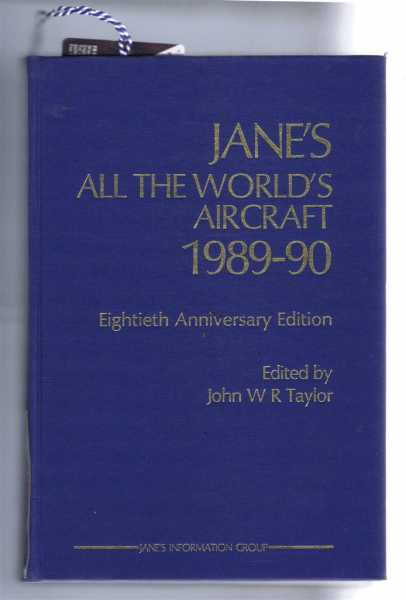 Image for Jane's All the World's Aircraft 1989-90; 80th Anniversary Edition