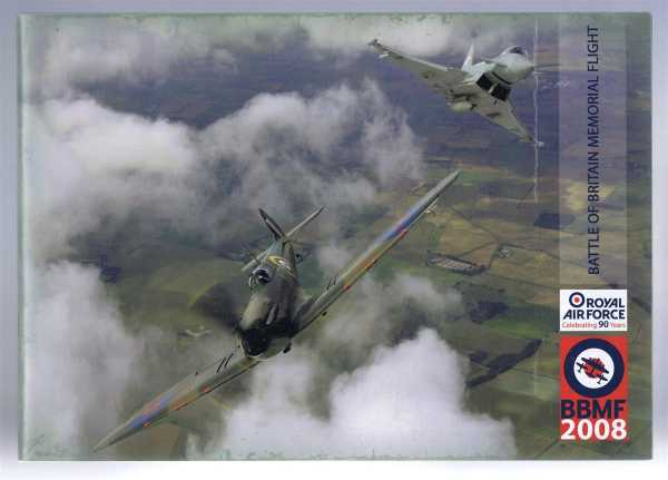 Image for Battle of Britain Memorial Flight BBMF 2008: RAF Celebrating 90 years