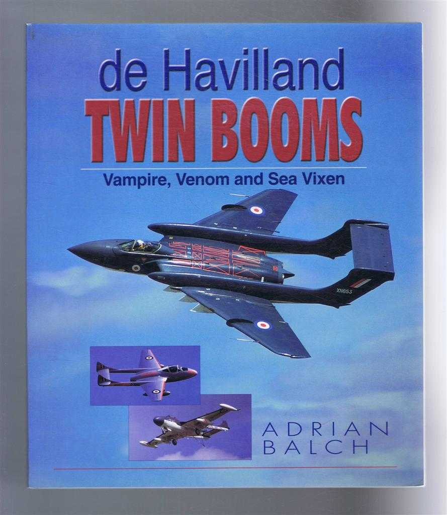 Image for de Havilland Twin Booms: Vampire, Venom and Sea Vixen