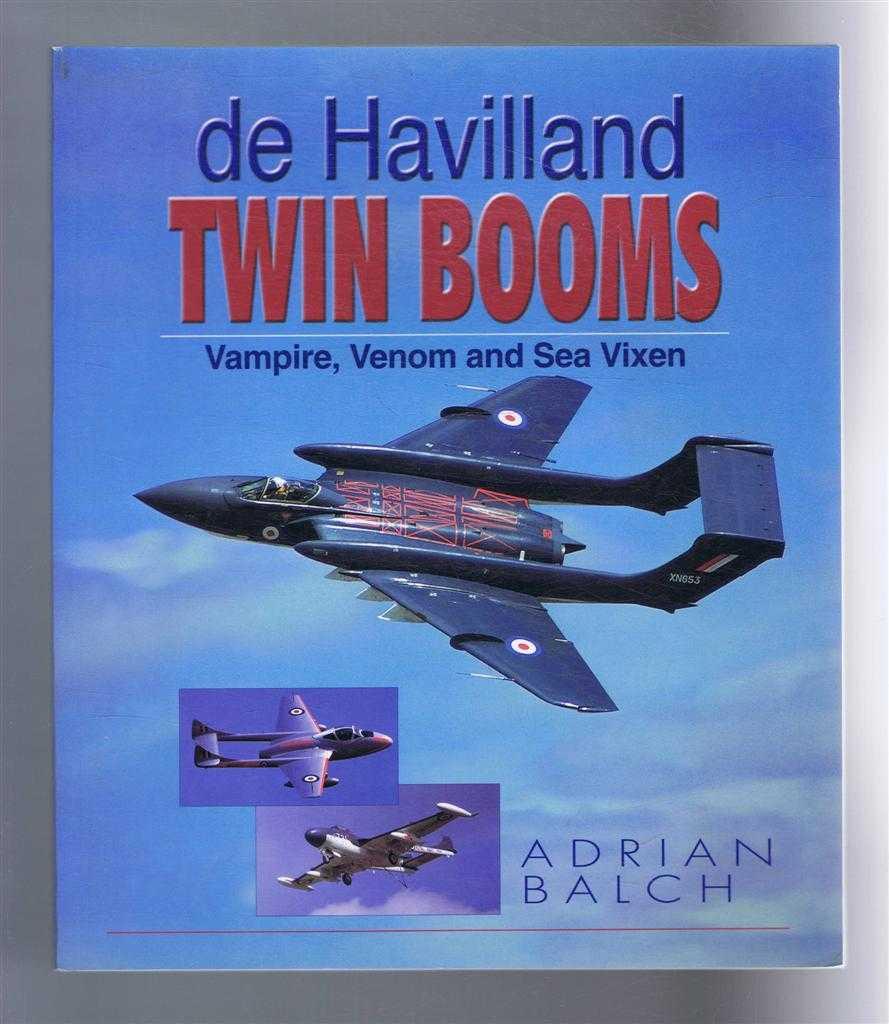 Image for de Havilland Twin Booms: Vampire, Venom and Sea Vixen