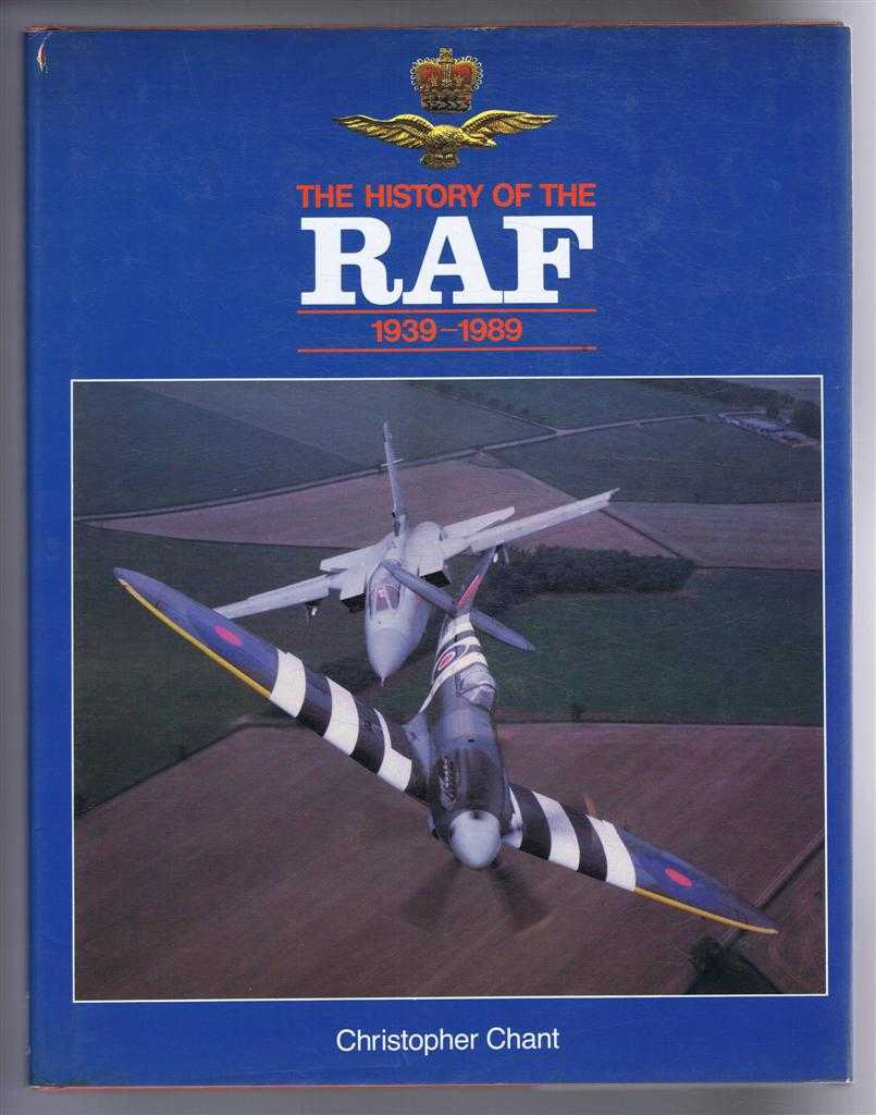 Image for The History of the RAF (R A F) 1939 -1989