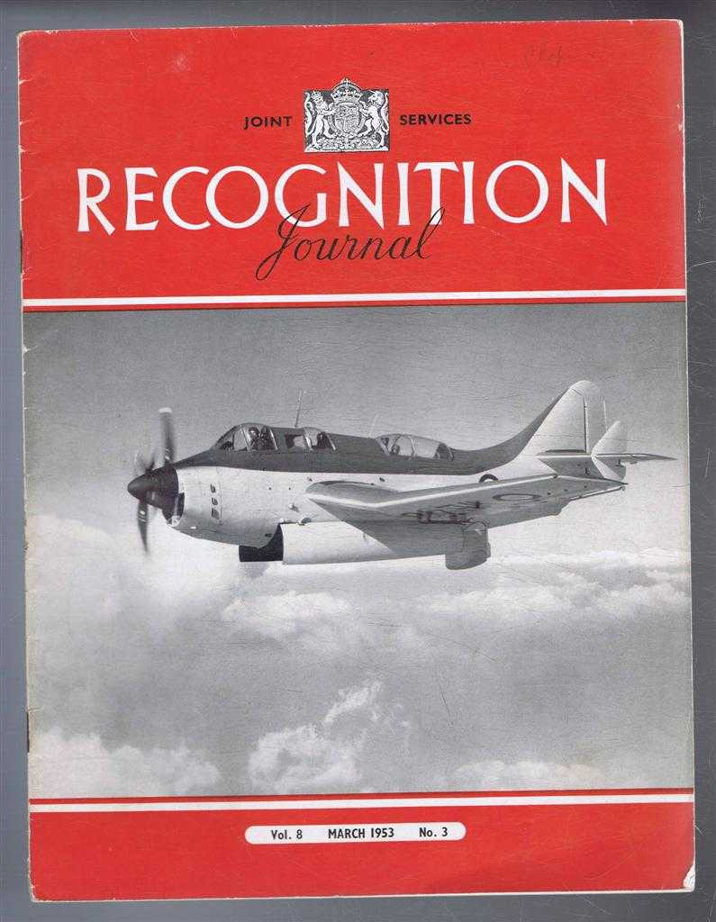 Image for Joint Services Recognition Journal, Vol. 8 No, 3, March 1953