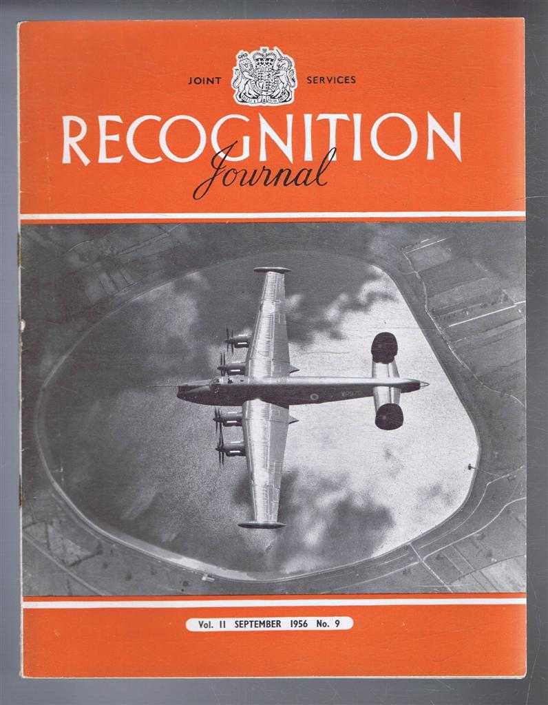Image for Joint Services Recognition Journal, Vol.11 No. 9, September 1956