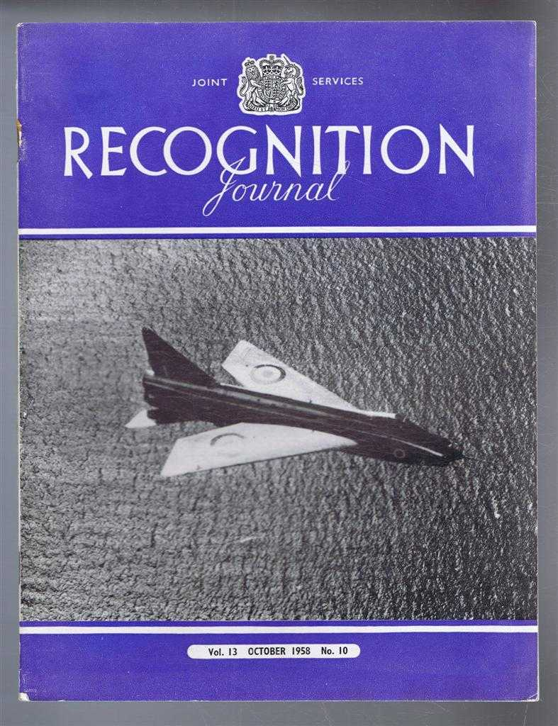 Image for Joint Services Recognition Journal, Vol.13 No. 10, October 1958