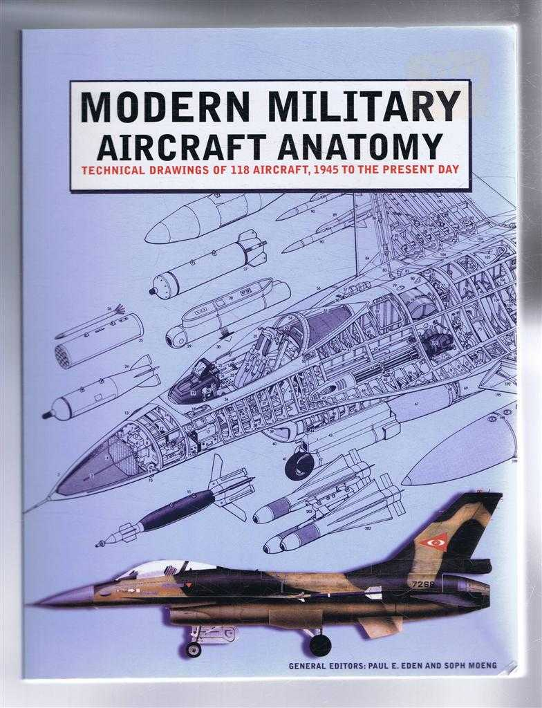 Image for Modern Military Aircraft Anatomy, Technical Drawings of 118 Aircraft, 1945 to the Present Day