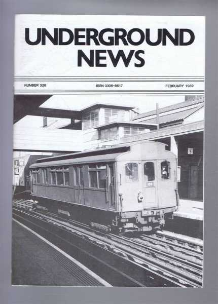 Image for Underground News. Number 326. February 1989