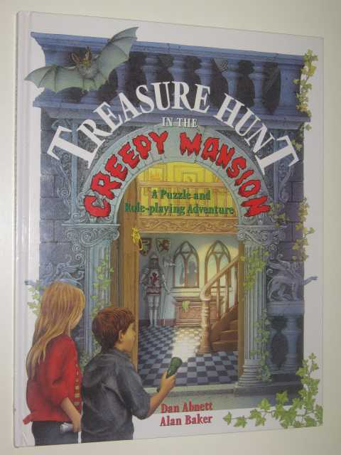 Treasure Hunt in the Creepy Mansion, Abnett,Dan