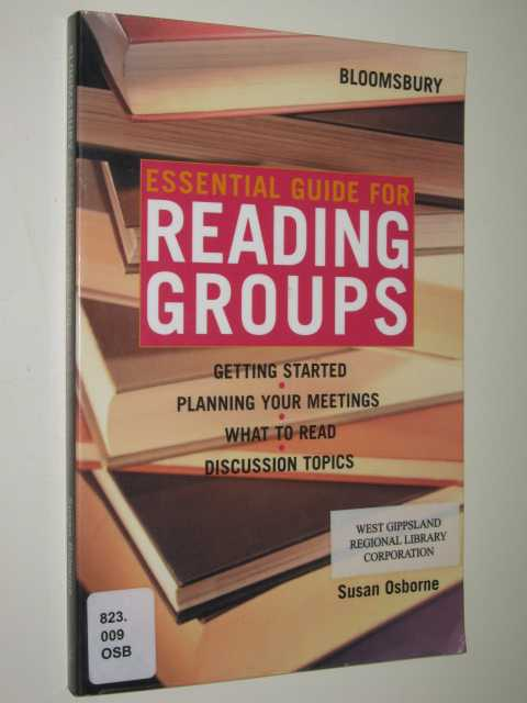 Essential Guide for Reading Groups, Osborne,Susan