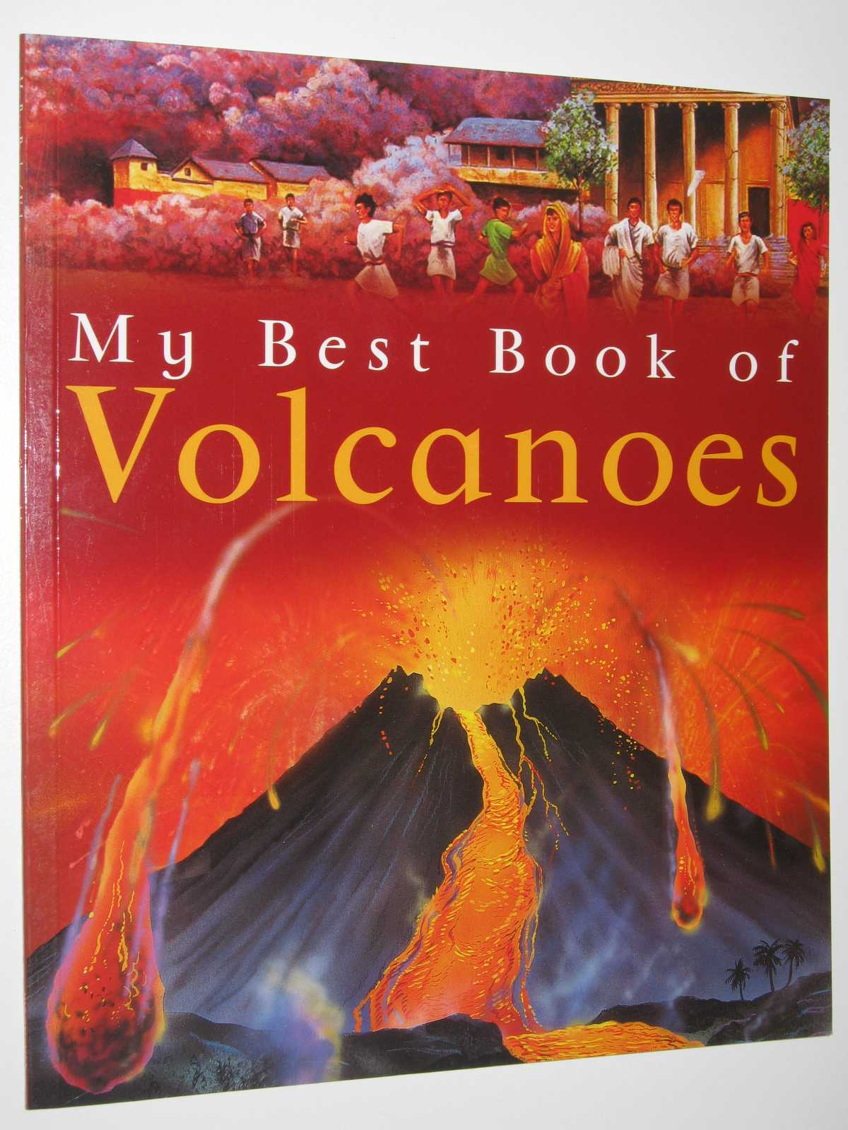 My Best Book of Volcanoes, Adams, Simon