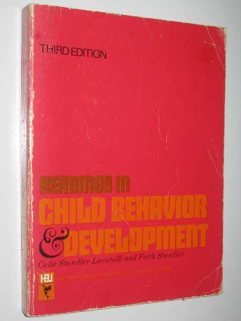 Readings in Child Behavior and Development