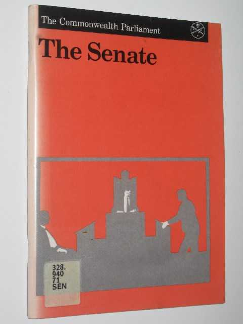 The Senate, Author Not Stated